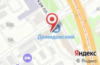 Схема проезда до компании Гарантия в Барнауле