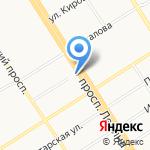 Детский сад №241 на карте Барнаула