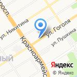 А-Диск на карте Барнаула