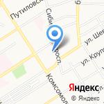 Управление Алтайского края по промышленности и энергетике на карте Барнаула