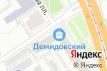 Схема проезда до компании Графикс в Барнауле