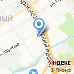Городское зеленое хозяйство на карте Барнаула