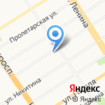 Кедровица на карте Барнаула