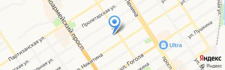 ЗерноСбыт на карте Барнаула