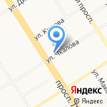 Флорист на карте Барнаула