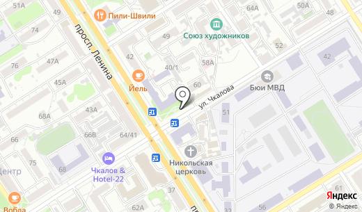 TelePay. Схема проезда в Барнауле