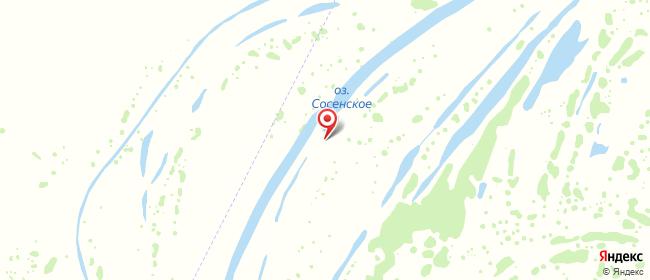 Карта расположения пункта доставки 7060 Постамат ОМНИСДЭК в городе Сосенское