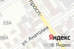 Схема проезда до компании Прометей-Центр в Барнауле