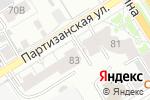 Схема проезда до компании Воздушный карнавал в Барнауле