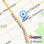 С головы до ног на карте Барнаула