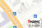 Схема проезда до компании Красотка в Барнауле