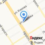 Барнаульский кооперативный техникум на карте Барнаула