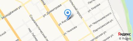 ЭкоСтом на карте Барнаула