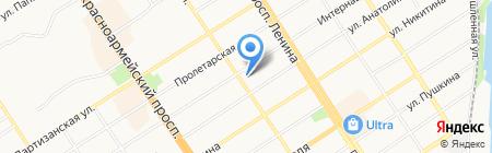 Добрый день на карте Барнаула