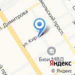Миль Флёр на карте Барнаула