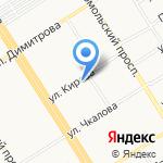 SPEX на карте Барнаула