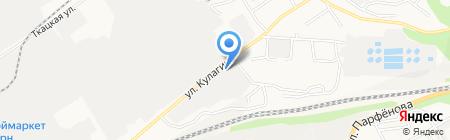 АВИ Сервис на карте Барнаула