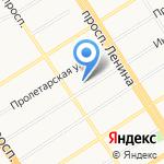 Дом Быта на карте Барнаула