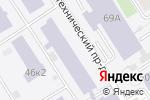 Схема проезда до компании Поиск в Барнауле