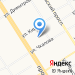Алтай-Циклон на карте Барнаула