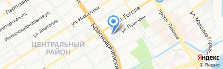 Скиф Плюс на карте Барнаула