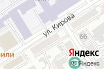 Схема проезда до компании Принтэкспресс в Барнауле