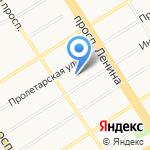 Лицей №129 им. Сибирского батальона 27-й стрелковой дивизии на карте Барнаула