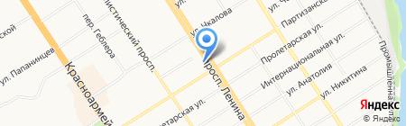 АлтайКлининг на карте Барнаула