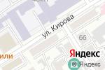 Схема проезда до компании Миль Флёр в Барнауле