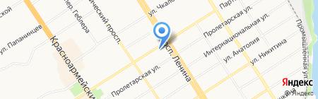 Диксон на карте Барнаула