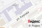 Схема проезда до компании Формат в Барнауле