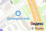 Схема проезда до компании Декорэль в Барнауле