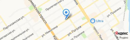 Инженерные системы на карте Барнаула
