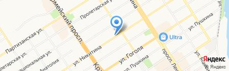 ПрофСтрой на карте Барнаула