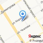 Союз художников России на карте Барнаула