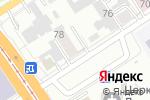 Схема проезда до компании Источник жизни в Барнауле