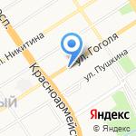 АртRoom на карте Барнаула