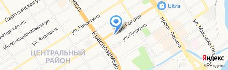 АРТ-Сервис на карте Барнаула