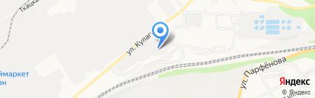 ИССИ на карте Барнаула