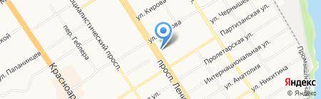 БЮИ на карте Барнаула