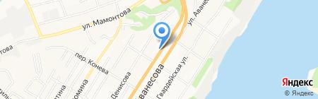 Почтовое отделение №3 на карте Барнаула