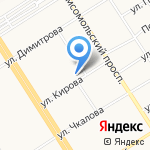 Формат на карте Барнаула