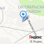 Базылев С.В. на карте Барнаула