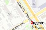 Схема проезда до компании Пять звезд в Барнауле