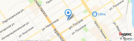 Энергогарант на карте Барнаула