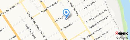 Пивное дело на карте Барнаула