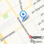 Алтайский государственный медицинский университет на карте Барнаула