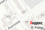 Схема проезда до компании Центр инженерной печати в Барнауле