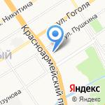 Мир одежды и обуви на карте Барнаула