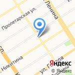 Доброе сердце на карте Барнаула